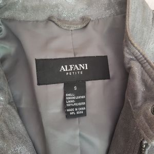 Shiny leather jacket, good condition